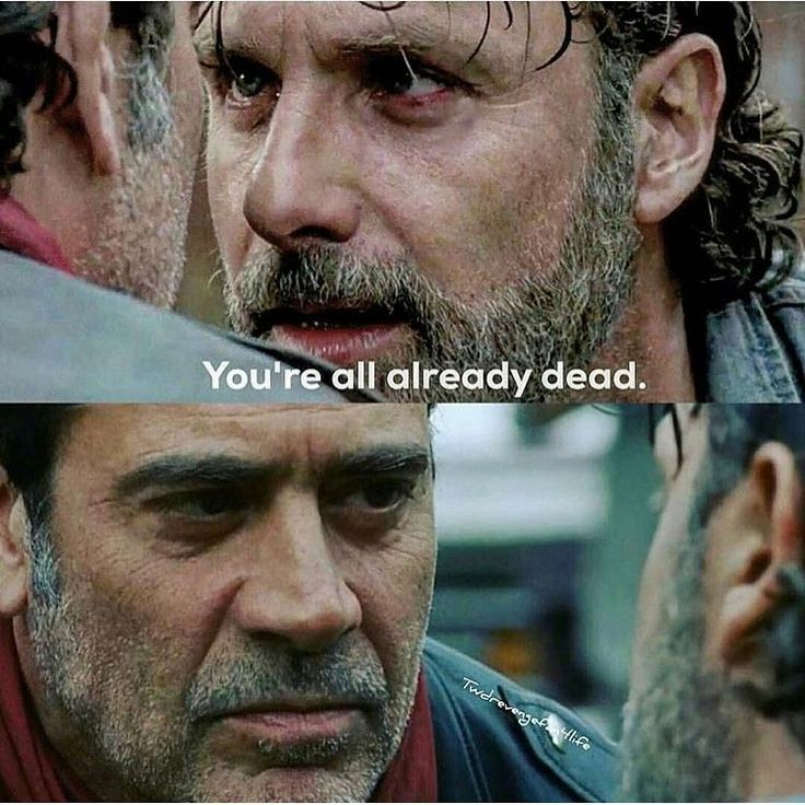 First time I've seen negan threatened/pissed! Awesome
