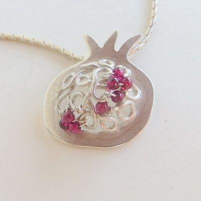 U-Boutique Shops   Pomegranate Pendant   Luly Jewelry