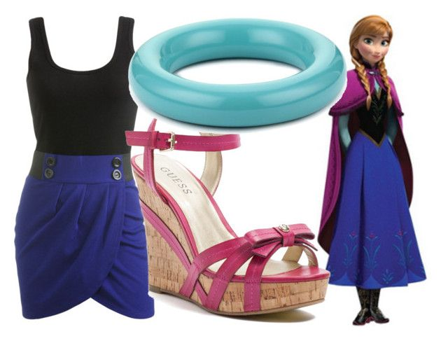 """""""Anna - Summer"""" by dutchveertje ❤ liked on Polyvore featuring Wet Seal and GUESS"""