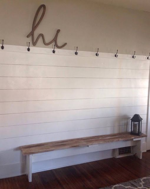 Faux Shiplap: DIY Sharpie Shiplap and Painted Shiplap Tutorial