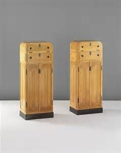 MARCEL KAMMERER Very rare pair of cabinets, ca. 1905