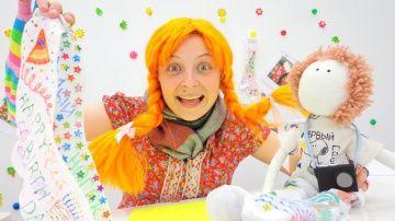 Поделки и рукоделия! Пеппи длинный чулок украшает носок! Поделки в ПОДАРОК http://video-kid.com/12718-podelki-i-rukodelija-peppi-dlinnyi-chulok-ukrashaet-nosok-podelki-v-podarok.html  Интересное рукоделие для детей,  самые простые и красивые поделки в интернете. Давайте познакомимся с Пеппи длиным чулком) Смешная и яркая она готова всем всем поднять настроение! А вы готовы поднять настроение своим друзьям и родителям? Если да, тогда смотрите внимательно, ведь сегодня вместе с Пеппи мы…