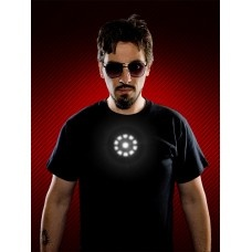 Tony Stark Light up LED Iron Man Polera $27011