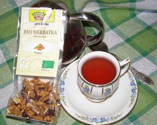 W Mojej Kuchni Lubię.. : pyszna bio herbatka owocowa...