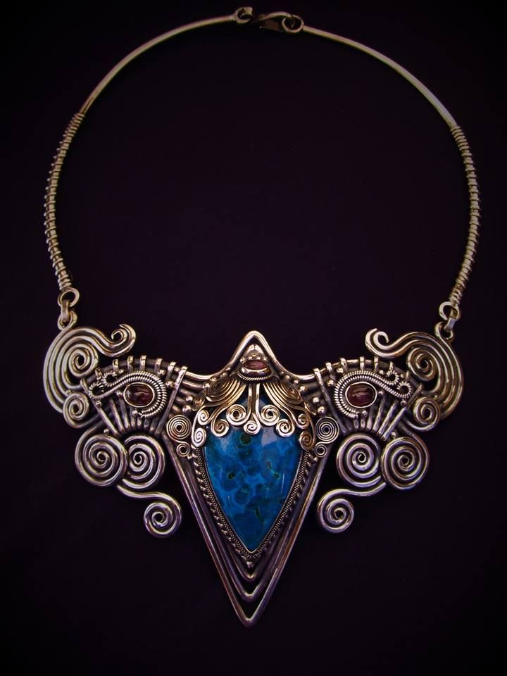 106 best wire weave images on Pinterest | Wire weaving, Jewelry and Wire