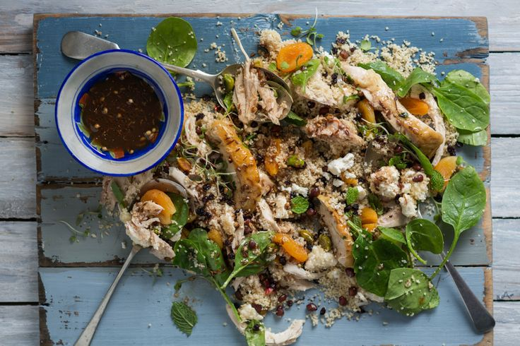 Pearled #Moroccan #Chicken #Salad. #Quick&Easy #recipe #Dinnersorted #FoodSolution