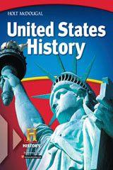 Holt McDougal United States History ? 2012