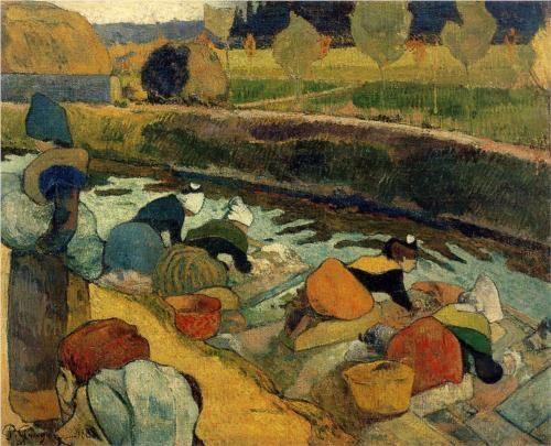 Washerwomen at Roubine du Roi - Paul Gauguin