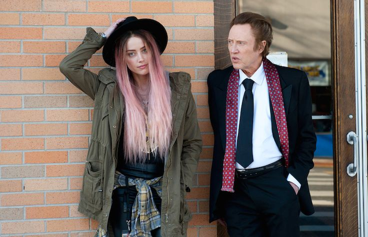 Review: 'One More Time' With Amber Heard And...: Review: 'One More Time' With Amber Heard And Christopher Walken Is A Low-Key… #AmberHeard
