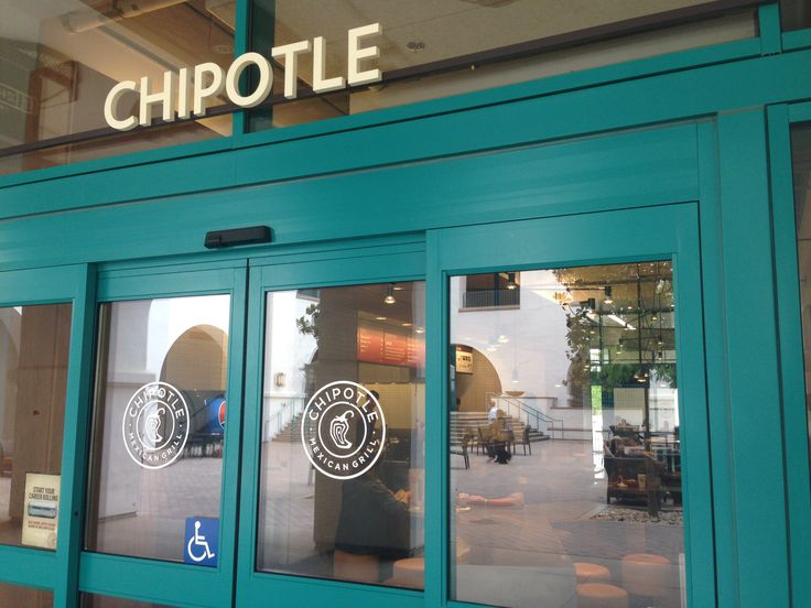 Chipotle is located in the Aztec Student Union and has great Mexican food!
