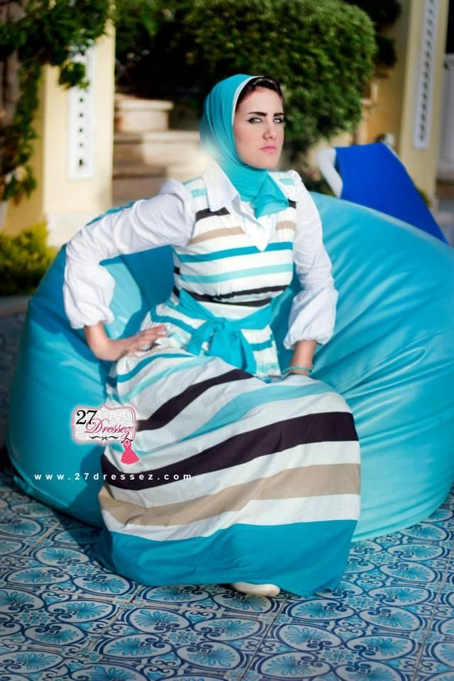 summer maxi dress  Hijab casual outfits by 27dressesz http://www.justtrendygirls.com/hijab-casual-outfits-by-27dressesz/