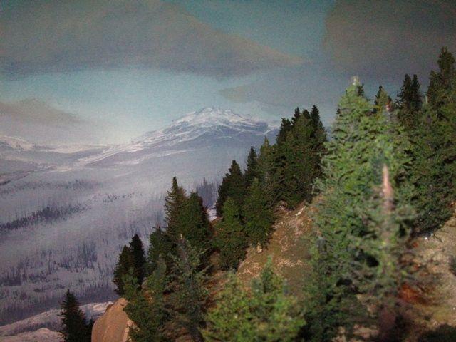 11 best model train backdrops images on pinterest model - Model railroad backdrops ...