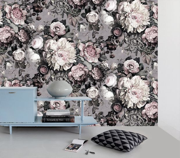 Superior Dark Floral II Wallpaper By Ellie Cashman. Photo U0026 Styling By Ellen Mesu. Part 29