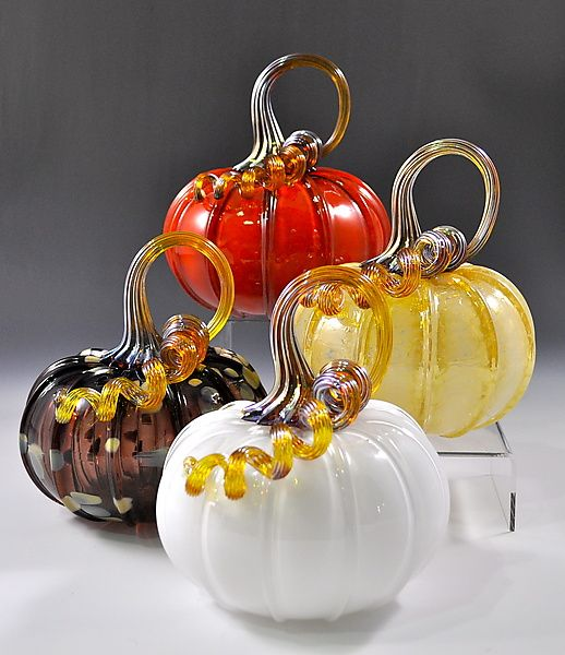 Glass Pumkins