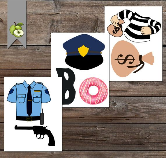 Fiesta policías y ladrones retiro de la policía por TheArtyApples