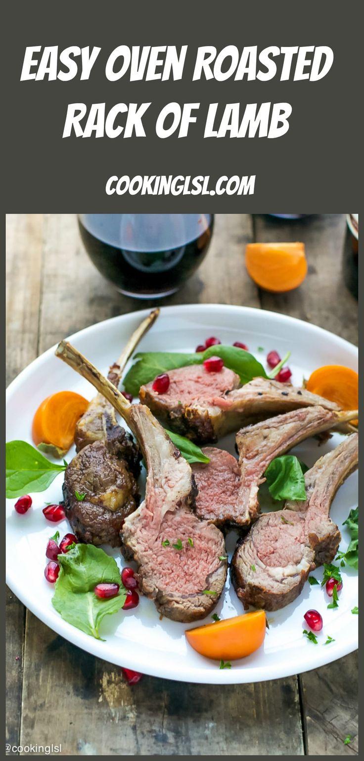 The 25+ best Rack Of Lamb ideas on Pinterest | Lamb rack ...