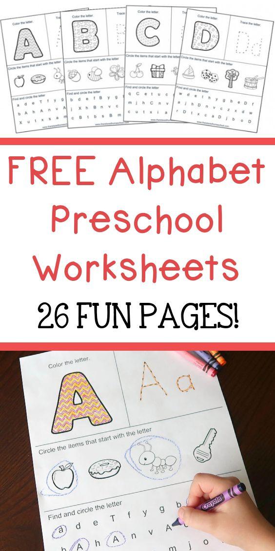 Free Alphabet Workbook Is Great For Preschoolers Sign Up