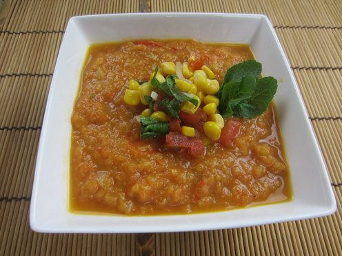 Fennel and Bell Pepper Gazpacho