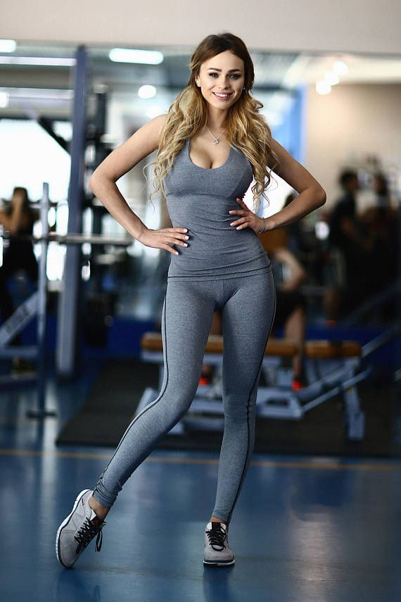 Set / Fitness Clothes Women / Activewear / LEGGINGS / Lycra / Tops /  Lifestyle / Air Running Walks / Comfortable clothes / Body Fitness / |  Tracksuit women, Womens workout outfits, Casual trouser outfit