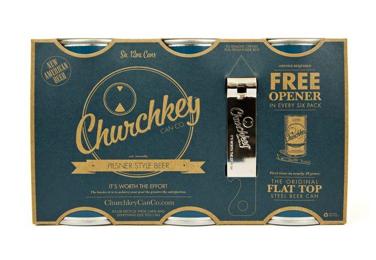 lovely-package-churchkey-3: Awesome Design, Churchkey Packaging, Nice Packaging, Churchkey Beer, Packaging Design, Lovelypackagechurchkey3, Love Packaging Churchkey 3 Jpg, Branding, Design By Justin