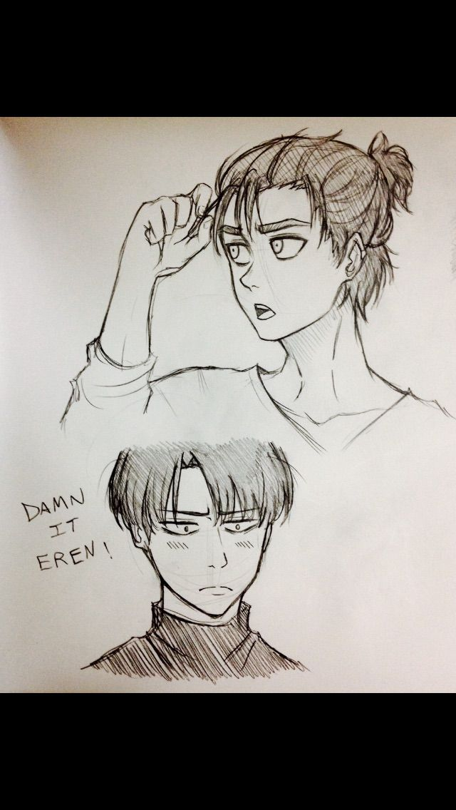 Pin By Sam I Am On Attack On Titan Ereri Anime Drawings