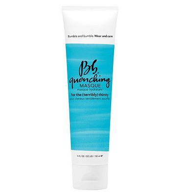 #Bumble and bumble Quenching Masque 150ml 10145514 #132 Advantage card points. Used weekly, Bumble and bumble Quenching Masque is a profound hydrator restores natural moisture barrier for supple softness, strength and sublime detangling. FREE Delivery on orders over 45 GBP. (Barcode EAN=0685428009929)