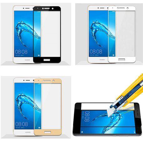 Protector pantalla de Cristal Templado Completo - Huawei Y7 / Y7 Prime
