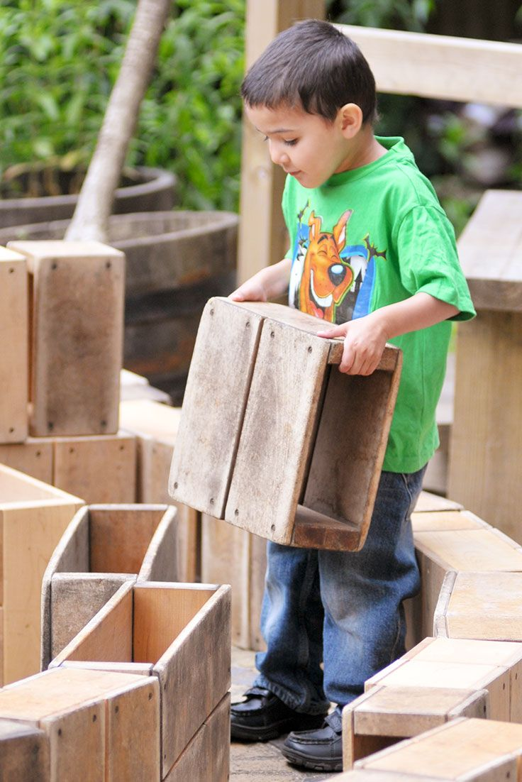 Where small construction enables children to build miniature worlds, large construction empowers them to create environments they can actually inhabit.