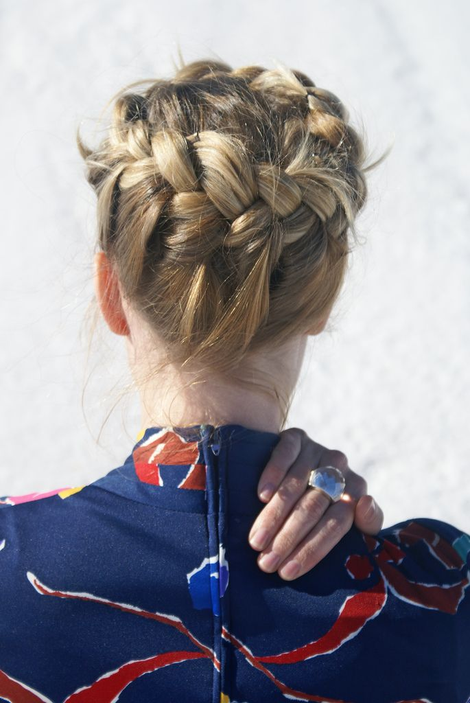 51 Best Images About Buns And Ponytails On Pinterest