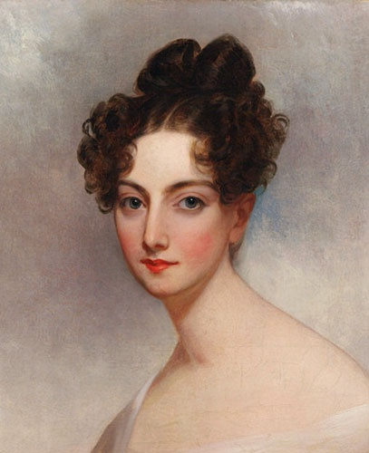 Thomas Sully portrait of Ann McCrea Foster Wirgman