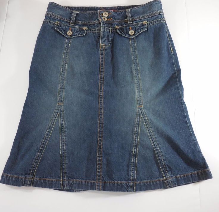 17 best ideas about blue jean skirts on