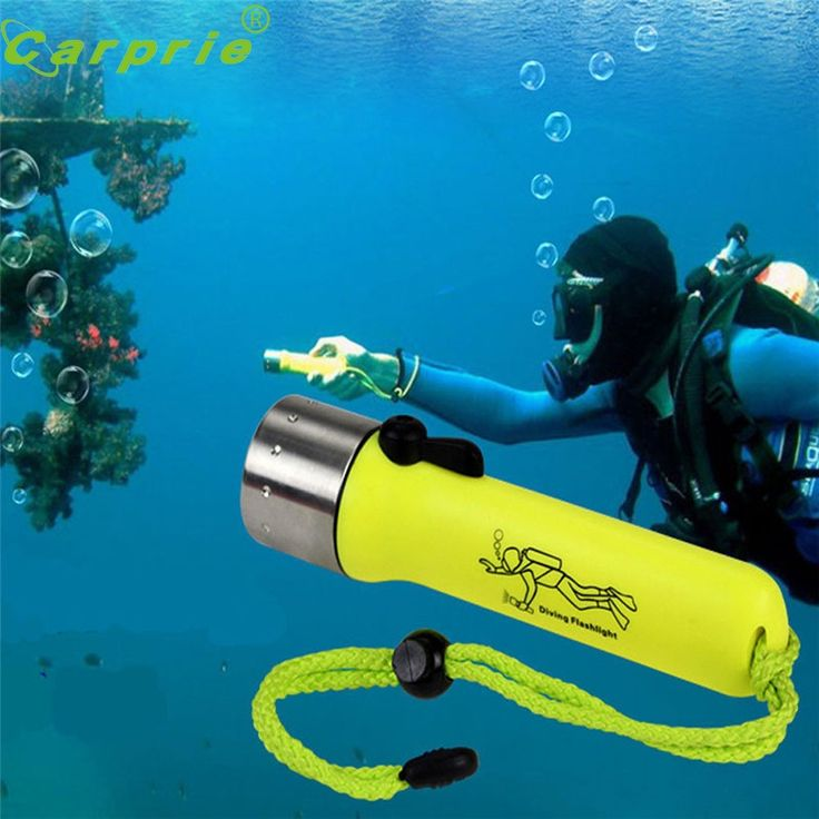 Súper xpe 1200lm del cree xm-l led linterna antorcha lámpara de buceo bajo el agua de luz a prueba de agua 170118