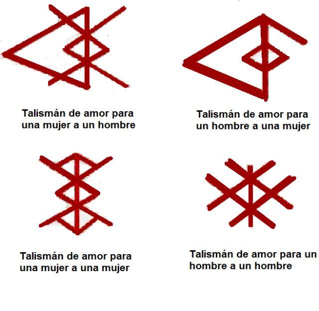 Tatuajes de Runas Vikingas. Talismanes nórdicos con los que empezar el año nuevo: -Runas de amor
