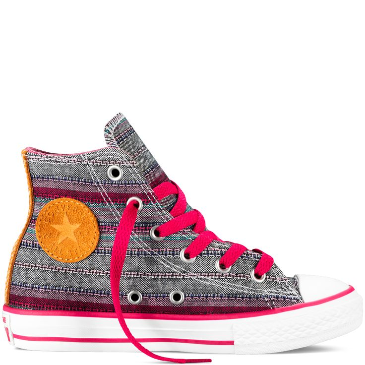 Converse - Chuck Taylor All Star Crafted Yth/Jr - Berry Pink - Hi Top