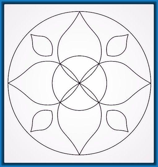 Best 25 mandalas faciles de dibujar ideas on pinterest zentangle f cil zentangle art facil - Mandala facile ...