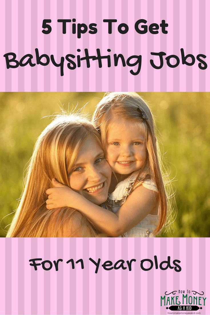 Easy! Babysitting Jobs For 11 Year Olds