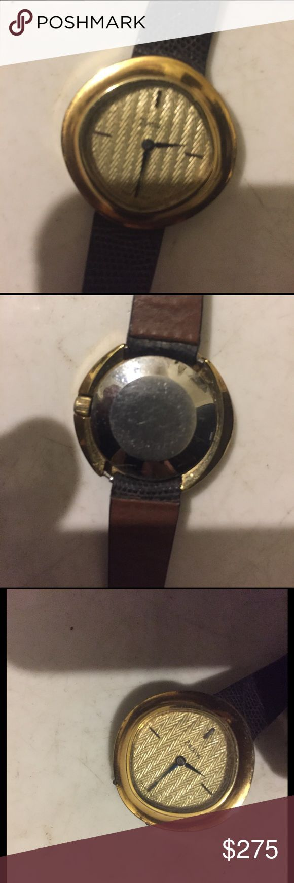Vintage zodiac watch automatic very rare Gold plate watch zodiac Accessories Watches