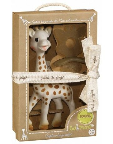 So'Pure Sophie the Giraffe and Natural Teether Set