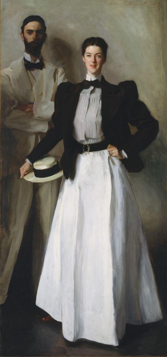 Джон Сингер Сарджент «Мистер и миссис Стоукс», 1887