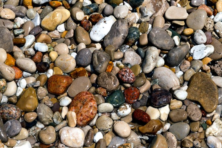 Photograph Wet Beach Stones by Kenneth Keifer on 500px