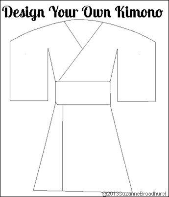 """Design Your Own Kimono ---> Learning About Japan: At Home and Church @Suzanne, with a Z, with a """"z"""" Broadhurst"""