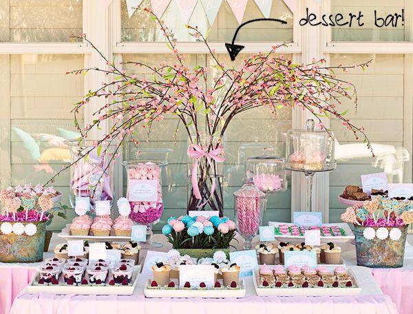 Cheap Wedding Budget Wedding ideas Dessert bar instead of cake cupcakes brownies mason jars wedding party app