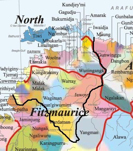 Van Dieman State based on Indigenous peoples' history and the flow of water.