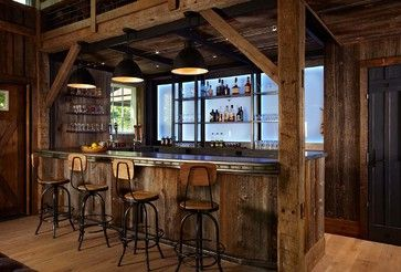 Barn and Entertainment/Music Performance Space - rustic - wine cellar - new york - Kelly & Co.