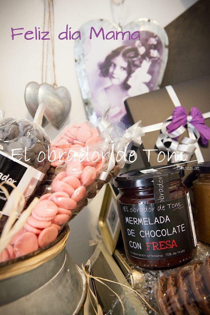 El regalo mas dulce para mamá en El obrador de Tom.Regala Arte & Chocolate. www.elobradordeTom.com