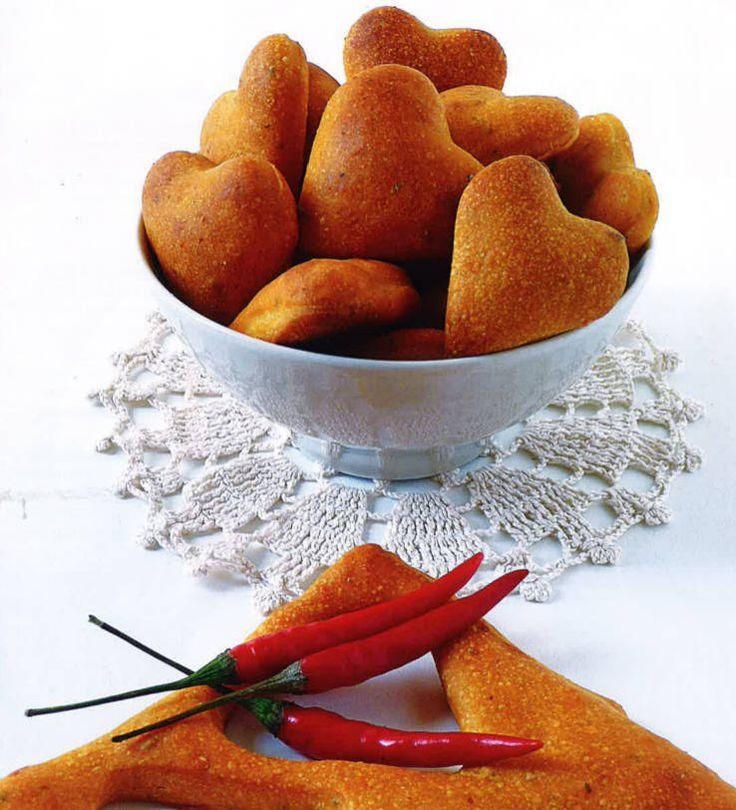 Cuoricini di pane