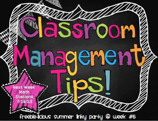 LOADS of Classroom Management Tips + Linky Party