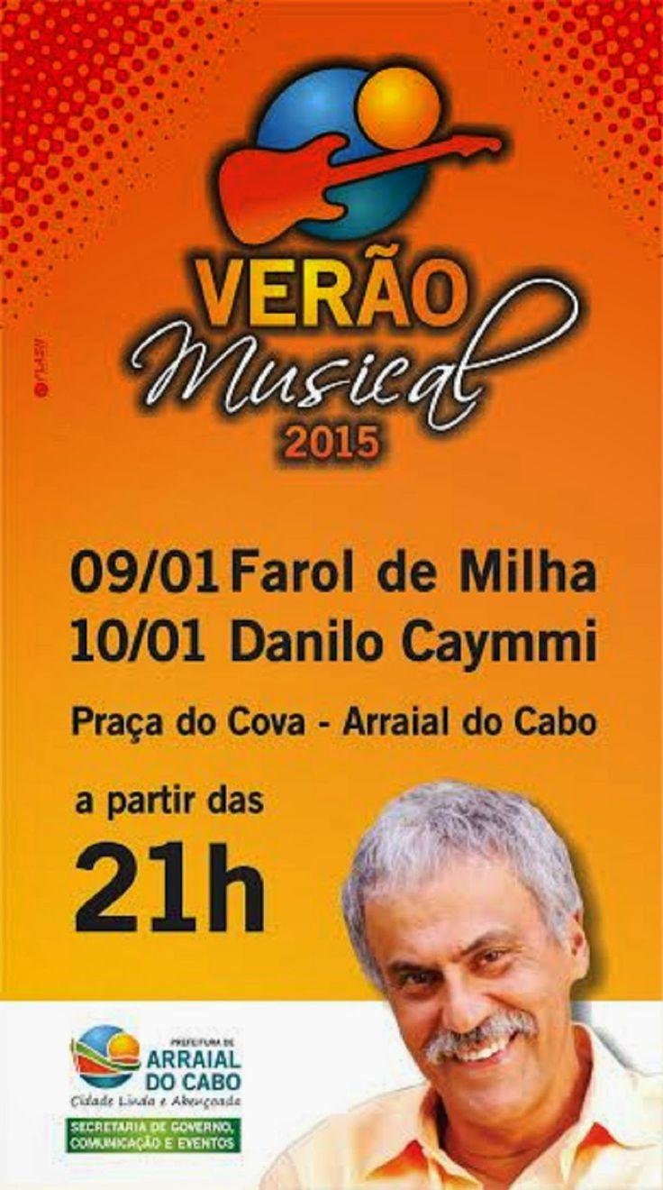 JORNAL O RESUMO - EVENTO DE VERÃO JORNAL O RESUMO: Verão Musical começa nesta sexta-feira em Arraial ...
