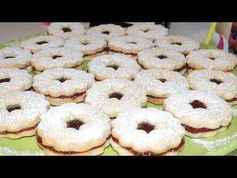 Plätzchen sau fursecuri nemţeşti cu dulceaţă - YouTube