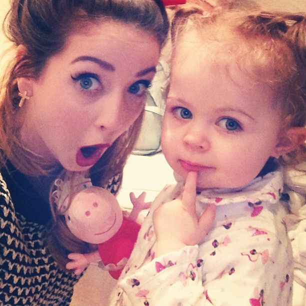 Zoe and Baby Glitter (Darcy)
